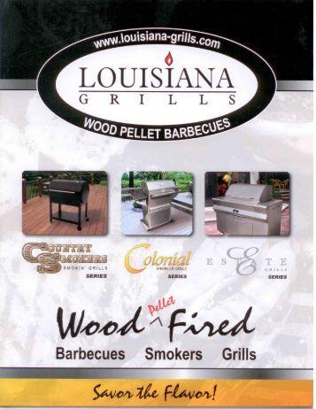 Louisiana Grills Catalog - Helmig Tree Farms Home