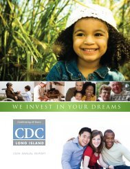 we invest in your dreams - Community Development Corporation of ...