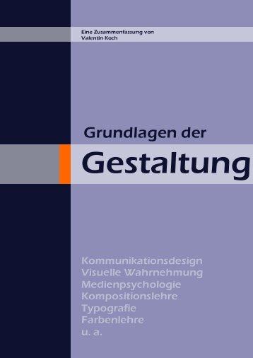 Grundlagen der Gestaltung - valentinkoch.de