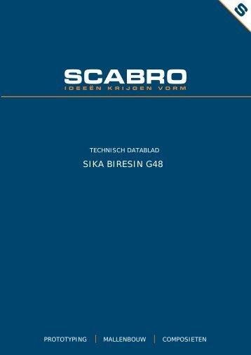 SIKA BIRESIN G48 - Scabro