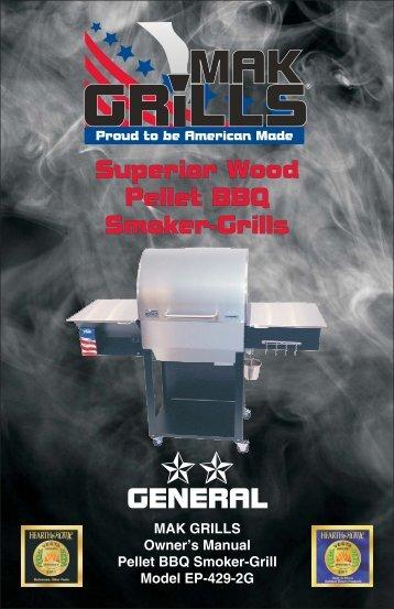 2 Star Owner's Manual PDF - MAK Grills