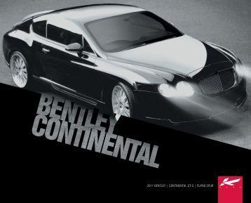 2011 bentley   continental gt-s   flying spur - A Kahn Design