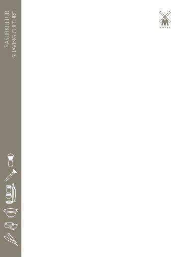 Mühle - Rasurkultur Produkte - Katalog ansehen - EXQUISIT24