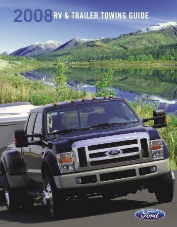 ford rv and trailer towing guide ford fleet fleet ford com 2012 ford. Cars Review. Best American Auto & Cars Review
