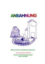 pdf-Datei: Anbahnung - Heidelberger Katechismus