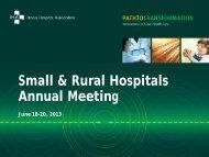 Presentations - Illinois Hospital Association