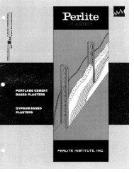 Lightweight Aggregate for Portland Cement ... - Perlite Institute