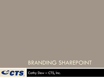 SharePoint Branding 101