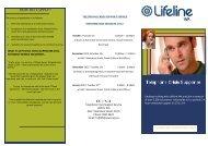Telephone Crisis Support Volunteer Brochure - Lifeline WA