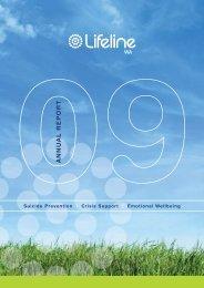 Lifeline WA Annual Report 2008-09