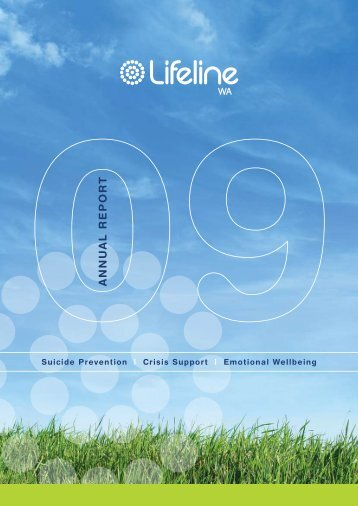 Lifeline WA Annual Report 2008-09