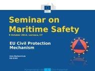 Seminar on Maritime Safety - Maremed