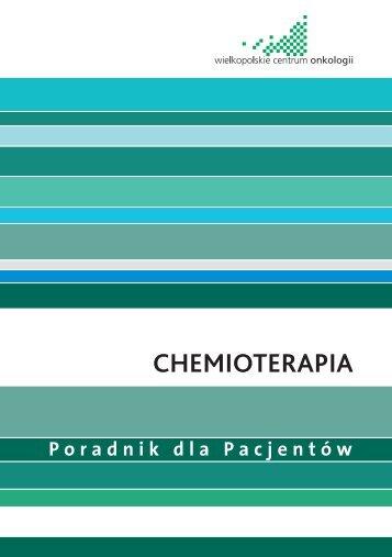Informator chemioterapia - Wielkopolskie Centrum Onkologii