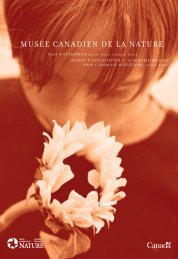 plan d'entreprise 2000-2001 à 2004-2005 - Musée canadien de la ...