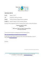 January 26, 2012 - Monterey Peninsula Water Management District