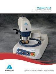 MetaServ™ 250 - Buehler