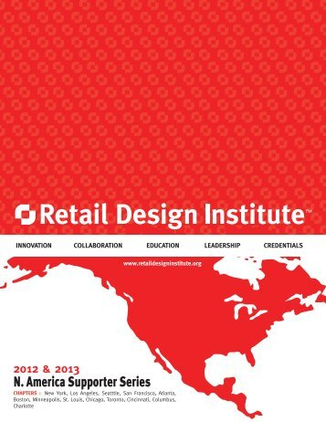N. America Supporter Series - Retail Design Institute