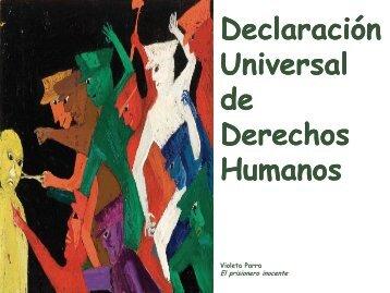 declaración universal de derechos humanos - Luis Emilio Recabarren