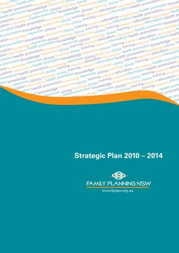 Strategic Plan 2010 – 2014 - Family Planning NSW