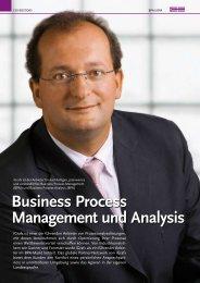 Business Process Management und Analysis - iGx Solutions Ltd.