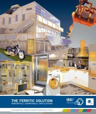 THE FERRITIC SOLUTION - International Stainless Steel Forum