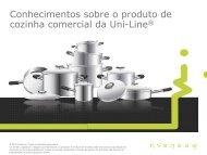 Conhecimentos sobre o produto de cozinha ... - Invensys Controls