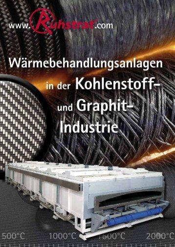 in der Kohlenstoff- und Graphit- Industrie - Ruhstrat GmbH