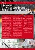 in der Kohlenstoff- und Graphit- Industrie - Ruhstrat GmbH - Seite 2
