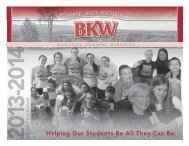 The 2013-14 calendar is now available - Berne-Knox-Westerlo ...
