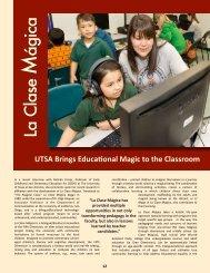 dr. flores' magica final draft - The University of Texas at San Antonio
