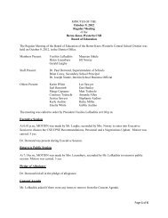 Page 1 of 6 MINUTES OF THE October 9, 2012 Regular Meeting of ...