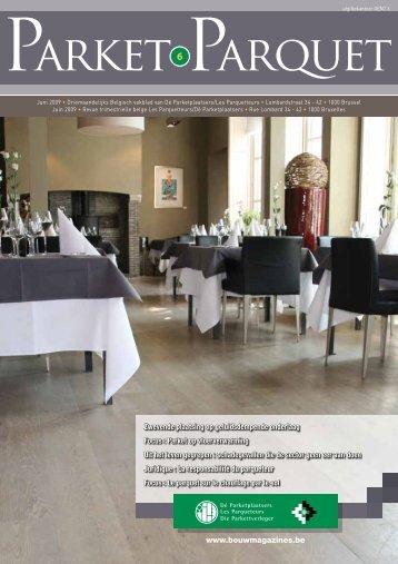 PARkEt PARQuEt - Bouwmagazines