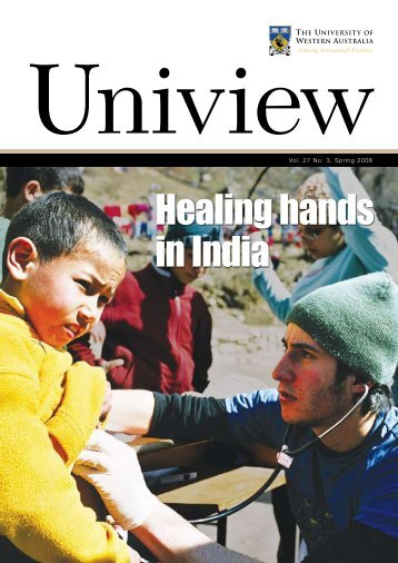 Healing hands in India - Publications Unit - The University of ...