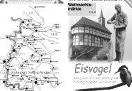 Eisvogel - 1. Jahrgang, Ausgabe 3, November-Dezember 2006