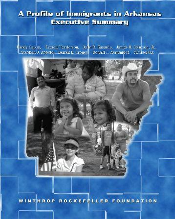 Executive Summary - Winthrop Rockefeller Foundation