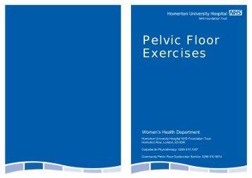 Pelvic Floor Exercises - Homerton University Hospital