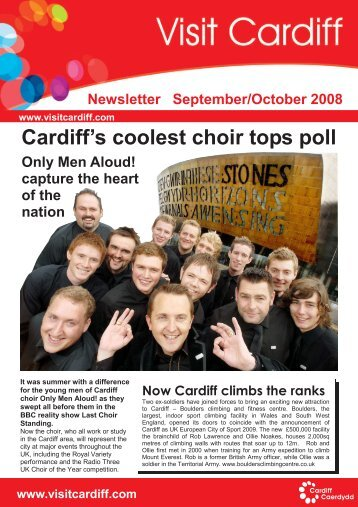 Cardiff's coolest choir tops poll - Visit Cardiff