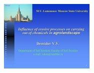 V. Demidov - Plant Nutrition Group