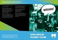 City of Melbourne – International Student Guide