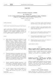 Decizia de punere în aplicare a Comisiei din 5 decembrie ... - MADR