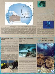 Pacific Islands Region Maritime Heritage Program Brochure