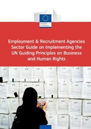 Employment & Recruitment Agencies - Sector Guide on - European ...