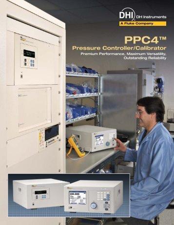 PPC4™ Pressure Controller/Calibrator - D-Ex Instruments