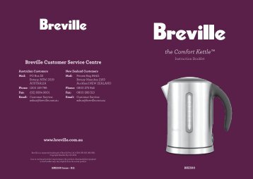 the Comfort Kettle™ - Breville