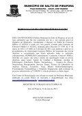 AVISO - Prefeitura Municipal de Salto de Pirapora - Page 2