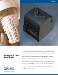 CL-S621 Bar Code/ Label Printer - Ahearn