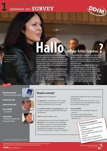 Hvad er survey? - Region Midtjylland