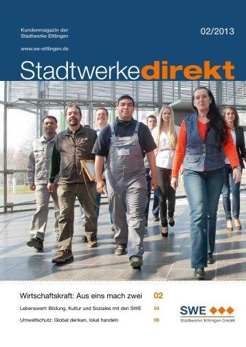Ausgabe 02/2013 - Stadtwerke Ettlingen GmbH