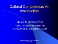 Cultural Competence: An Introduction - Magellan provider website