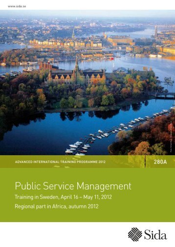 Brochure (pdf 1,54 MB) - Sida